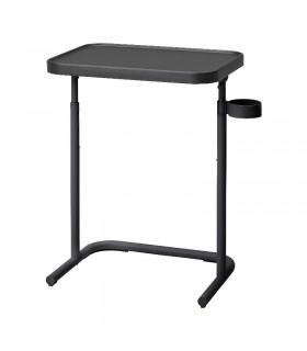 میز لپ تاپ ایکیا مدل  BJÖRKÅSEN رنگ ذغالی