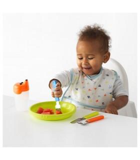ست قاشق چنگال کودک ایکیا مدل SMASKA