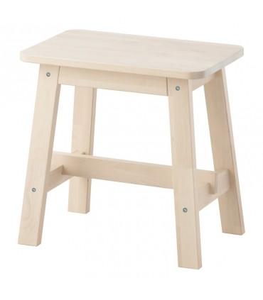 تصویر چهارپایه چوبی ایکیا مدل NORRÅKER