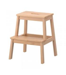 چهارپایه چوبی ایکیا مدل BEKVÄM