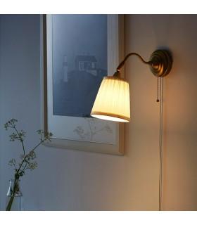 چراغ دیواری ایکیا مدل ÅRSTID رنگ طلائی