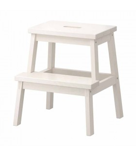چهار پایه چوبی ایکیا مدل BEKVÄM رنگ سفید