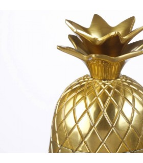 ظرف طلایی با درب ایکیا مدل VINDFLÄKT طرح آناناس