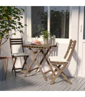 میز و صندلی ایکیا مدل ASKHOLMEN