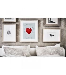 پوستر نقاشی قلب ایکیا مدل BILD