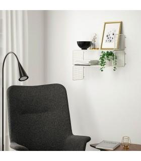 شلف دیواری ایکیا مدل SVENSHULT رنگ سفید