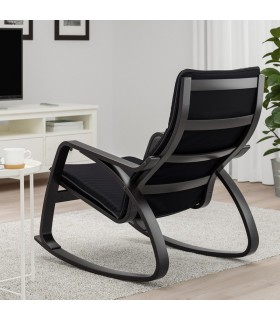 صندلی راکر ایکیا مدل POÄNG رنگ مشکی