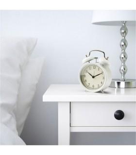 ساعت رومیزی ایکیا مدل DEKAD رنگ سفید