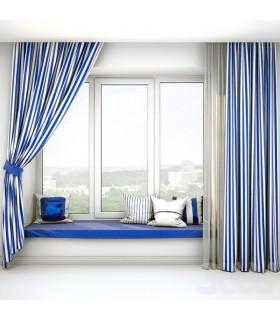 کاور کوسن ایکیا مدل SOMMAR رنگ آبی