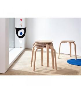 چهارپایه چوبی ایکیا مدل KYRRE